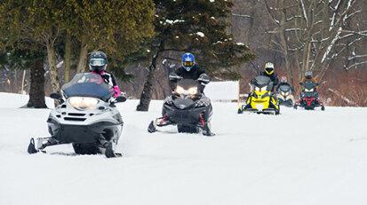 Western New York Snowmobiling | Chautauqua Lake Area Snowmobiling on